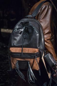 Coach 1941 Fall 2018 Fashion Show Details - The Impression High End Handbags, Handbags On Sale, Luxury Handbags, Mens Handbags, Designer Handbags, Fashion Bags, Fashion Backpack, Fashion Accessories, Best Purses