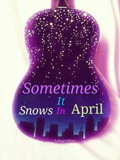 sometimes snows april Cover tribute made by arlet retteketet this one song in the snow of april.