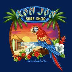 Gifts & Decor Office Library Sailing Schooner Nautical Theme Bookend - Home Style Corner Tropical Art, Tropical Birds, Tiki Hawaii, Tiki Tattoo, Tiki Art, Vintage Tiki, Photo Mosaic, Outdoor Paint, Airbrush Art