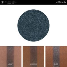 Eye Shadow Singles with skin swatch in the shade Mermaid