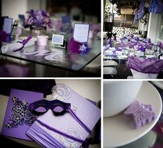 purple purple purple wedding