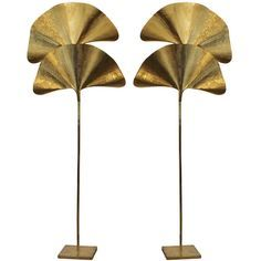 Lighting | Pair of Tomasso Barbi Brass Floor Lamps | From a unique collection of antique and modern floor lamps | www.bocadolobo.com