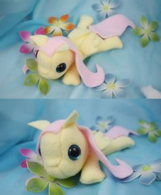 My Little Pony Friendship is Magic Fluttershy Filly Plush