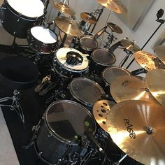 """469 Likes, 3 Comments - Craig Blundell (@craigblundelldrums) on Instagram: """"Back in my studio today recording drums for the brilliant @yatinsri Project today…"""""""