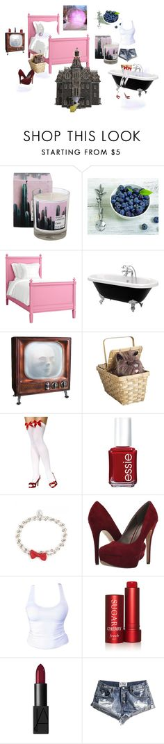 """""""🔮YOU'VE ALWAYS HAD THE POWER👠"""" by forever-seventeen ❤ liked on Polyvore featuring Holly's House, Vagabond House, Redford House, Essie, OSCAR Bijoux, Michael Antonio, Fresh, NARS Cosmetics and OneTeaspoon"""