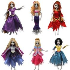 The zombie apocalypse has arrived in the land of fairy tales and the Once Upon a Zombie Dolls reveal that the new 'happily ever after' only happens when these