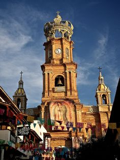 The Old Church - Puerto Vallarta, Jalisco, Mexico