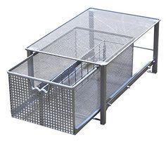 Photo Album For Website Decobros Mesh Cabinet Basket Organizer Silver Large X X