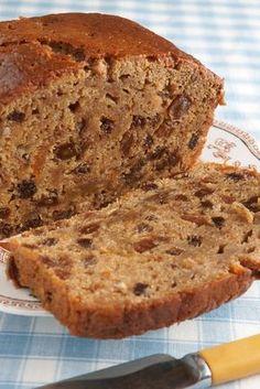 Exquisita torta galesa Pan Dulce, Bara Brith, Plum Cake, Just Cakes, Foods With Gluten, Gluten Free Baking, Cookies And Cream, Dairy Free Recipes, Cupcake Cakes