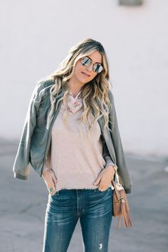 Dash of Darling | Wear Your Favorite Items Now With This Spring Transition Outfit