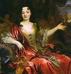 Anne Marie de La-Tremoille, Duchess Bracciano attributed to Nicolas de Largillière