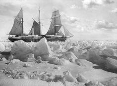 expedición trans-antártica de Shackleton