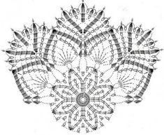 Beautiful star doily pattern