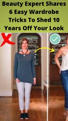 Beauty #Expert Shares 6 Easy #Wardrobe Tricks To Shed 10 #Years Off Your #Look