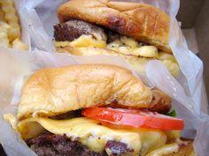 Burgers from Shake Shack