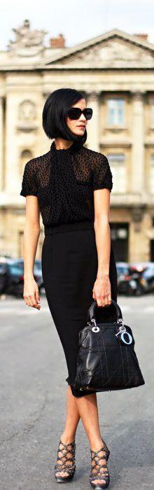 All black, so sleek