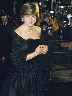 Even though she was gorgeous, Lady Diana was  very shy and it took her a long time to grow into her poised later self.
