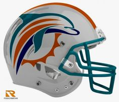 my absolute favorite concept. Miami Dolphins Funny, Nfl Miami Dolphins, College Football Helmets, Miami Football, Football Uniforms, Football Art, Football Memes, Pittsburgh Steelers, Football Players