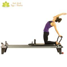 camel pilates reformer exercise 5