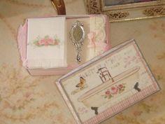 ♡ ♡ Set de baño de regalo caja 1:12