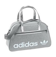 Gray Adidas handbags