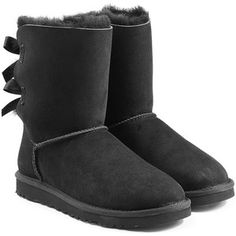 UGG Australia Bailey Bow Suede Boots