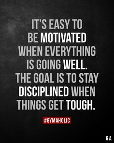 It's easy to be motivated when everything is going well. the goal It's easy to be motivated when everything is going well. the goal,Quotes goals motivation training workouts plan Motivation Poster, Fitness Motivation Quotes, Sport Motivation, Fitness Goals, Fitness Motivation Wallpaper, Fitness Humor, Fitness Wear, Exercise Motivation, Wellness Fitness