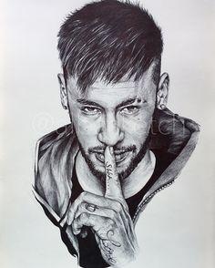 Neymar Jr by albasketch #draw #drawing #illustration #art #artist #sketch #sketchbook #Neymar #Neymar #Neymarjr #Njr #albasketch