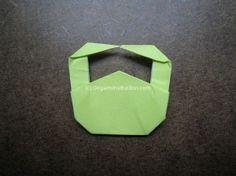 Origami Simple Handbag Step 26