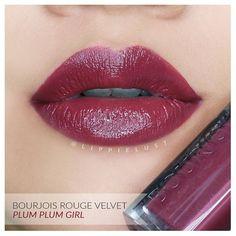 Bourjois Rouge Velvet Edition No.14: Plum Plum Girl