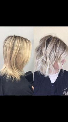 How-To: yellow blonde to lived-in sombre hair sarışın saç mo Yellow Blonde Hair, Hair Blond, Ombré Hair, Hair Dos, Light Blonde, Brunette Hair, Diy Hair, Ash Blonde Bob, Toning Blonde Hair
