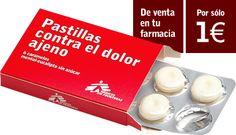 Ahora en serio: Pastillas contra el dolor ajeno, de Medicos sin Fronteras