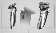 Product Design by Boris Wang at Coroflot.com  /// le fond uni, la disposition et le léger trait de fond appuient la mise en avant de l'objet