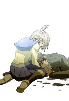 saddest moment - Corpse Party (Zerochan)