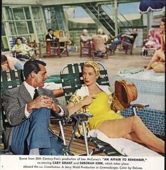 1957 Travel Movie ad - An Affair to Remember - available through MyPaperedPast, $6.00