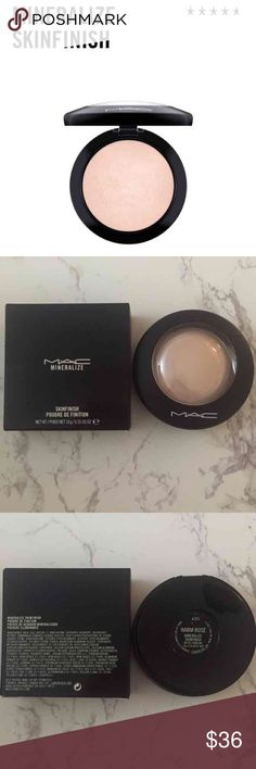 MAC Mineralize Skinfinish Color: Warm Rose Never Used  Price Is Firm No Trades MAC Cosmetics Makeup Face Powder