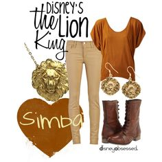 """The Lion King: Simba"" by disneyobsessed on Polyvore"