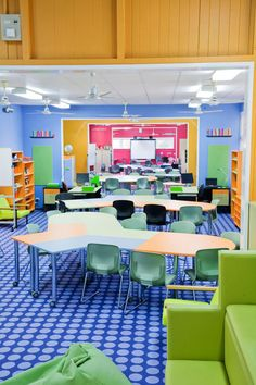 Stanthorpe State Primary School- what to do with classrooms and corridors.