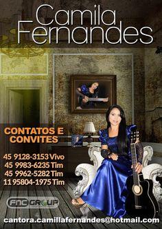 Venha Conferir o Novo Albúm da Cantora Camilla Fernandes