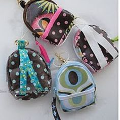 Mini Backpack Coin Purse and Key Chain