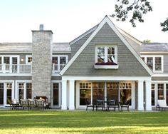 windows, shakes, & stone | Charlie & Co. Design