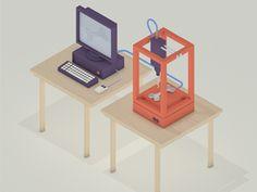 Isometric illustration by Peter Serruys