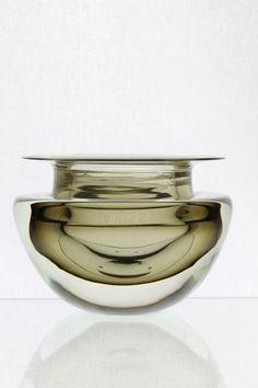 Flavio Poli, Art Glass Bowl, 1950, Murano   glass