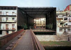 subtilitas:    RCR Arquitects - La Lira public passageway, Ripoll. Prev. Via.