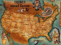 native american old maps - Buscar con Google