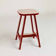 Description A taller version of Stool Three, the bar stool in our Series Three family has all the characteristics of this collection; a generous seat with gentl
