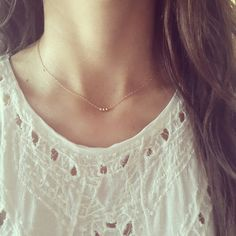 Simple everyday necklace by ATELIER Gaby Marcos