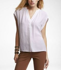 Tried on this top today from Express and loved it!!!