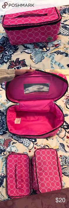 Caboodles Train Case Never used, great size holds a ton of stuff and toiletries caboodles Bags Cosmetic Bags & Cases
