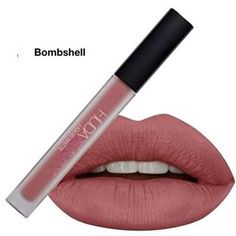 Huda Beauty Liquid Matte Lipstick (Bombshell) - 1.9 Ml Long Lasting Lipstick Moisturizing Finish Soft and Smooth Texture Available https://www.amazon.in/dp/B07561TXYL offers at www.fabshoppinghub.com